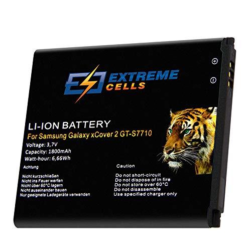 Extremecells Akku für Samsung Galaxy xCover 2 GT-S7710 EB485159LU EB485159LA Batterie