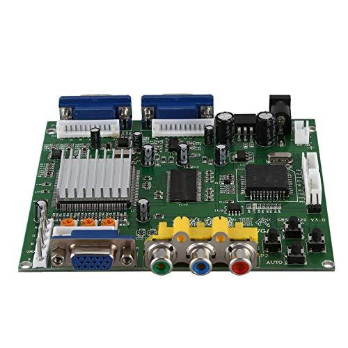 ACAMPTAR Gbs8220 rcade-Spiel Cga/Yuv/EGA/RGB-Signal Zu Vga Hd-Videokonverterplatine (Dual-usgang)