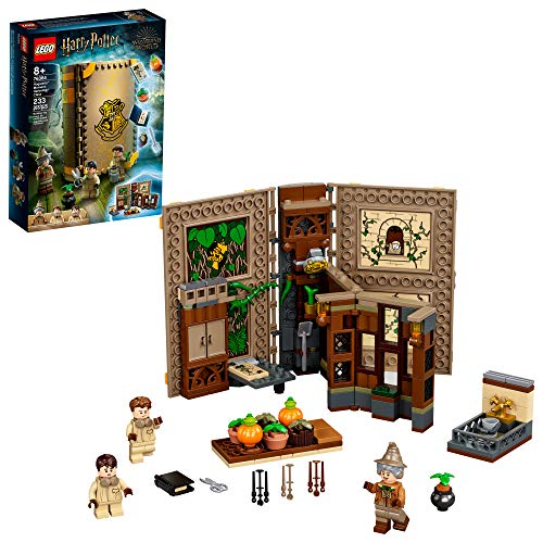 LEGO Harry Potter Hogwarts Moment: Herbology Class 76384 Professor Sprout's Classroom in a Brick Book Playset, New 2021 (233 Pieces)