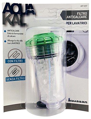 Aquasan 1257 Filtro Anticalcare per Lavatrici, Bianco