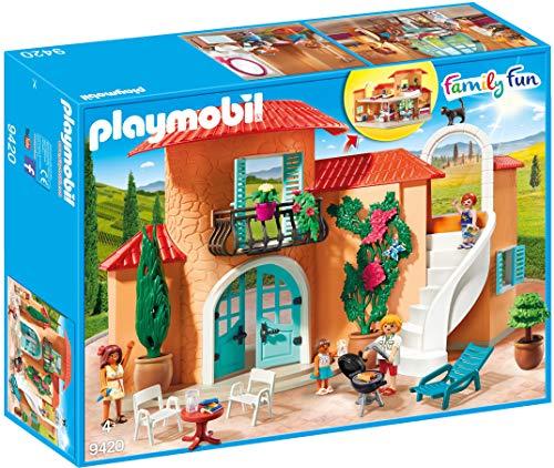 maison de vacances playmobil auchan