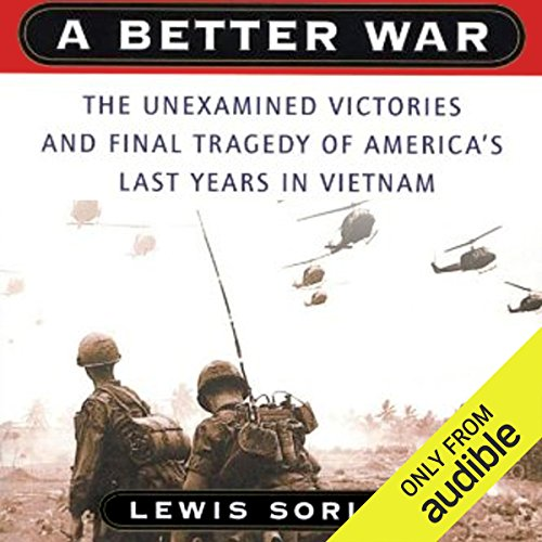A Better War audiobook cover art