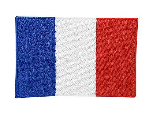 Frankreich Flagge Patch zum Aufbügeln | Französische Fahne Patches, France Flag Bügelbild, Airsoft Aufbügler, Aufnäher Finally Home