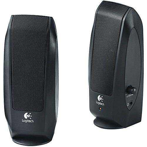 Cheapest Prices! Logitech S120 2.0 Multimedia Speakers 980-000012 (Certified Refurbished)