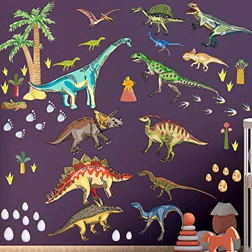 Dinosaur Wall Decals for Boys Room Dinosaur Wall Stickers for Kids Bedroom Large Dinosaur Wall product image