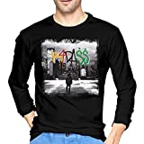 Joey Badass B4.Da Long Sleeve T Shirt Men Adult Classic Cotton Comfortable Round Neck Tshirts Black