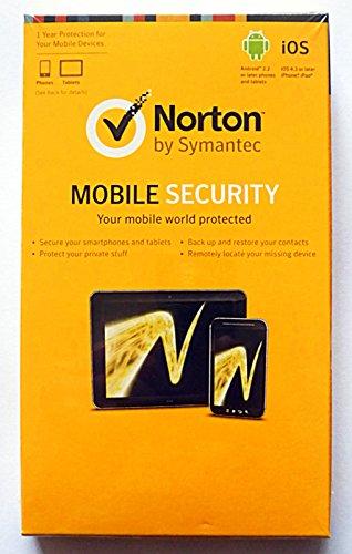 Norton Mobile Security 3.0, Abonnement Paket (1 Jahr) für 1 Gerät, Android, iOS, Englisch