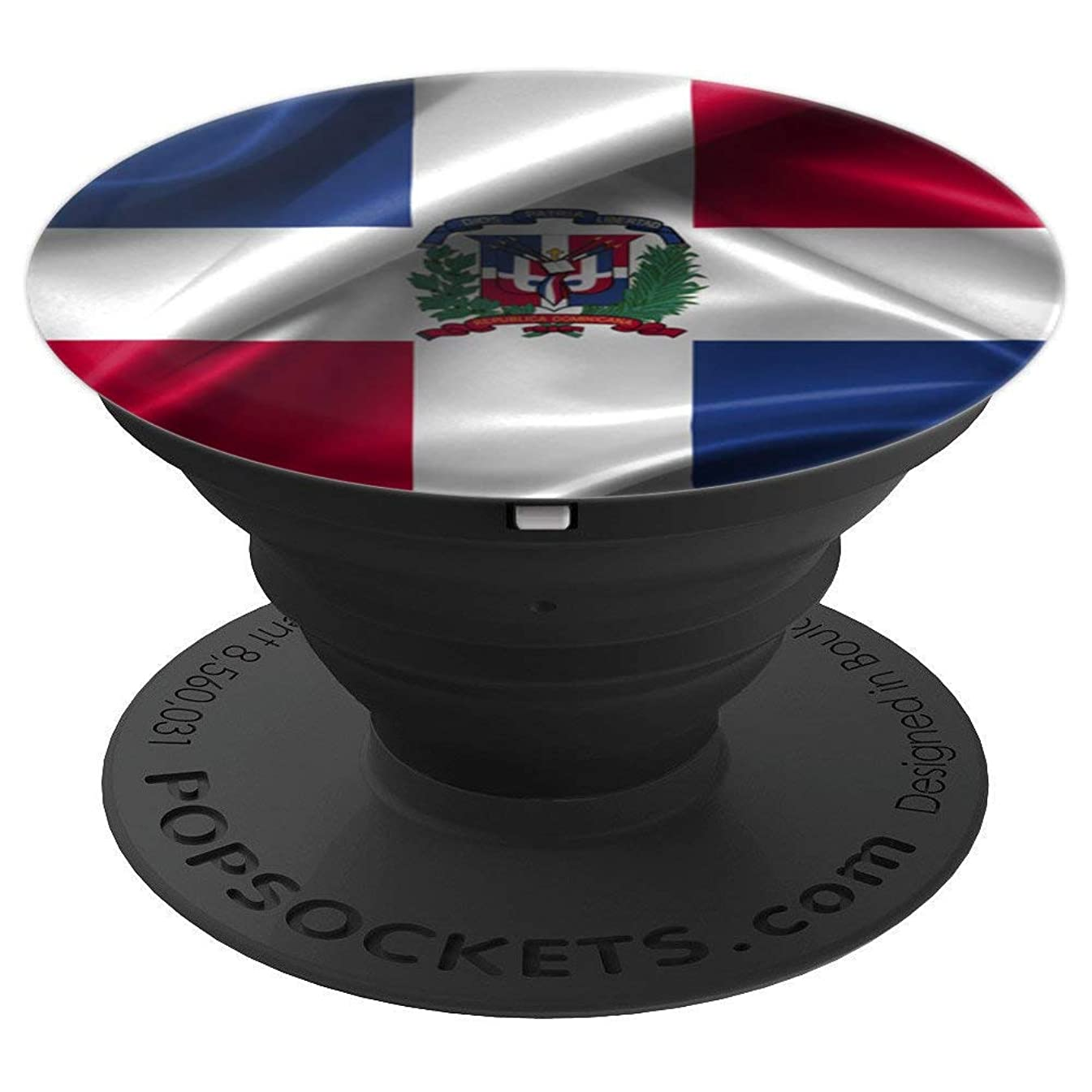 Dominican Republic Flag Cell Phone Accessory Gift - PopSockets Grip and Stand for Phones and Tablets