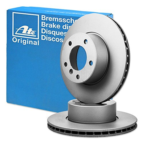 Preisvergleich Produktbild 2x ORIGINAL ATE Bremsscheiben Belüftet Ø300 VORNE