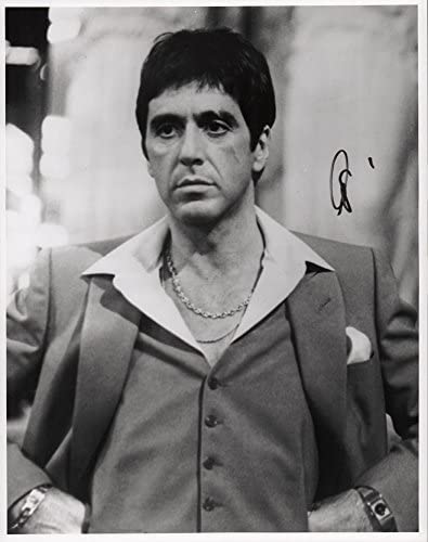 Al Pacino Autographed Signed 11x14 Bombing new work Photo Regular dealer AFTAL B W Scarface