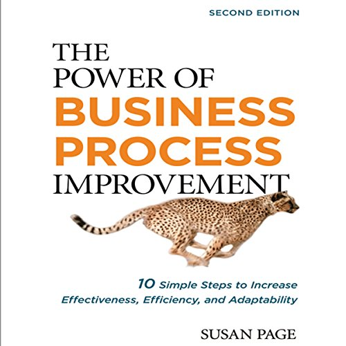 The Power of Business Process Improvement 2nd Edition audiobook cover art