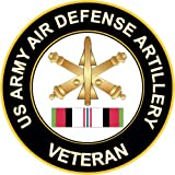 KE OU Army Air Defense Artillery Afghanistan Poster Tin