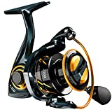 SNOVA Aladino Fishing Reel-10+1 BB Ultra Smooth Powerful Spinning Reel for Freshwater- High Speed Gear Ratio Spinning Fishing Reel,Size 5000 Light Weight Perfect for bass Fishing Catfish Fishing