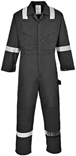 Regular Size: X-Large Portwest S999RBRXL Euro Work Polycotton Coverall Royal Blue