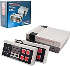 xjh Classic Mini Retro Game Console - Retro Gaming Console Built-in 620 Classic Video Game for Kids - 2 NES Classic Contro...