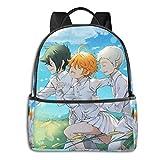 Jupsero Bolsa de viaje Bolsas para portátil Pro-mised Nev-erland Backpack Smooth Zipper Travel Bag Laptop Bags ,Suitable for College, School, Casual Daypacks 14.5 x 12 x 5 Inch