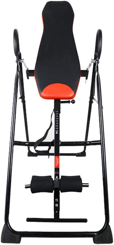 反転表 屋内運動を行うスポーツ愛好家のための調整可能な反転表 ヘビーデューティ反転表 (色 : ブラック, サイズ : 69*120*150CM)