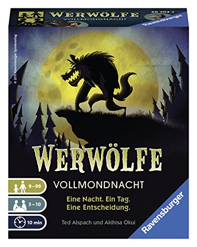 Ravensburger Kartenspiele 26703 - Werwölfe - Vollmondnacht
