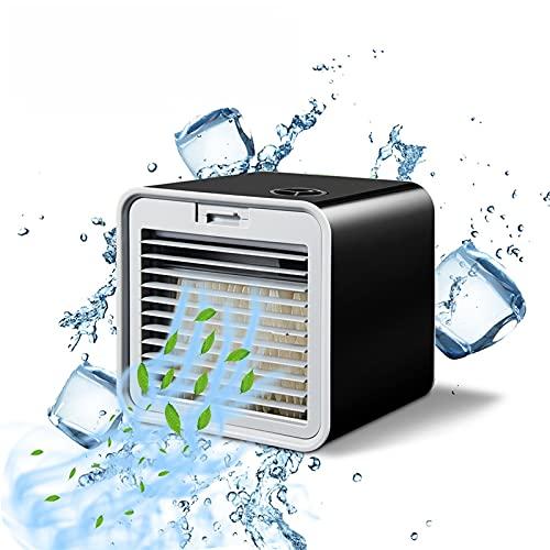 Pinzheng Aire Acondicionado portátil Ventilador Mini Espacio Personal Refrigerador de Aire Humidificador USB Mute 3 Velocidad AUTOMÁTICA Air Air FANE para EL Dormitorio DE Oficina del HOGAR