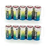 Pack de 10 pilas alcalinas 4LR44 de 6V y 476A para collares antiladridos y de entrenamiento para perros