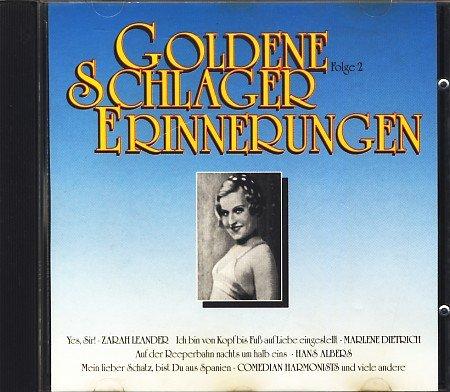 Goldene Schlagererinnerungen : Folge 2 : Audio CD : 20 Tracks ;