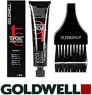Topchic by Goldwell Goldwell Topchicパーマネントヘアカラー、(なめらかな色合いのカラーブラシで)2.1オンスチューブ 8nn明るい金髪extra