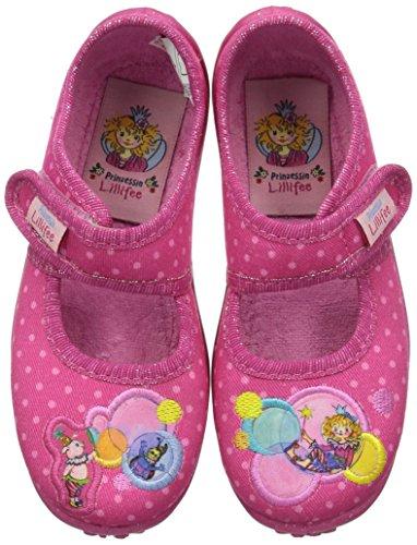 Prinzessin Lillifee Mädchen 230205 Flache Hausschuhe, Pink (Pinkbunt), 31