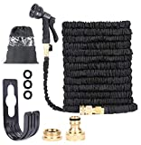 Mifri UK 100 Feet Newest Expandable Strongest Hose With & 8 Pattern Spray
