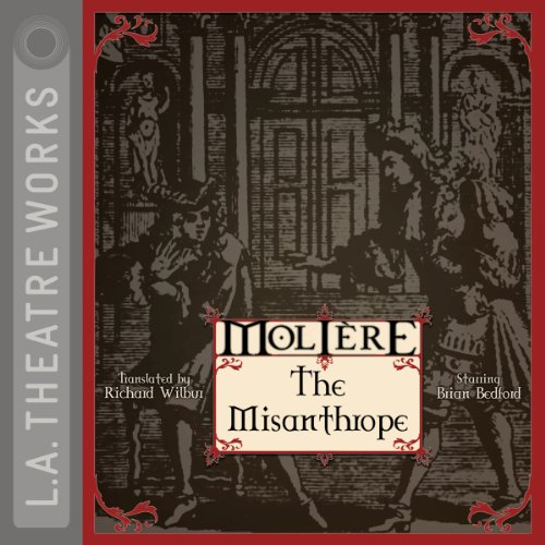 The Misanthrope audiobook cover art