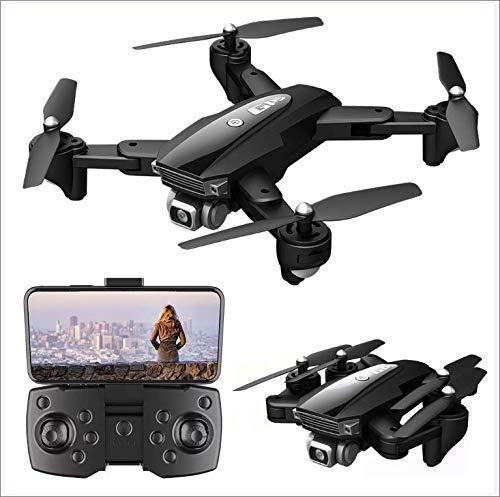 JayQm 6k Drone con cámara HD, 5G WiFi FPV Video en Vivo, GPS de Drone Plegable con Auto Return Home, 1800m Imagen de Imagen Distancia GPS Drone 3000M Distancia de Control Remoto