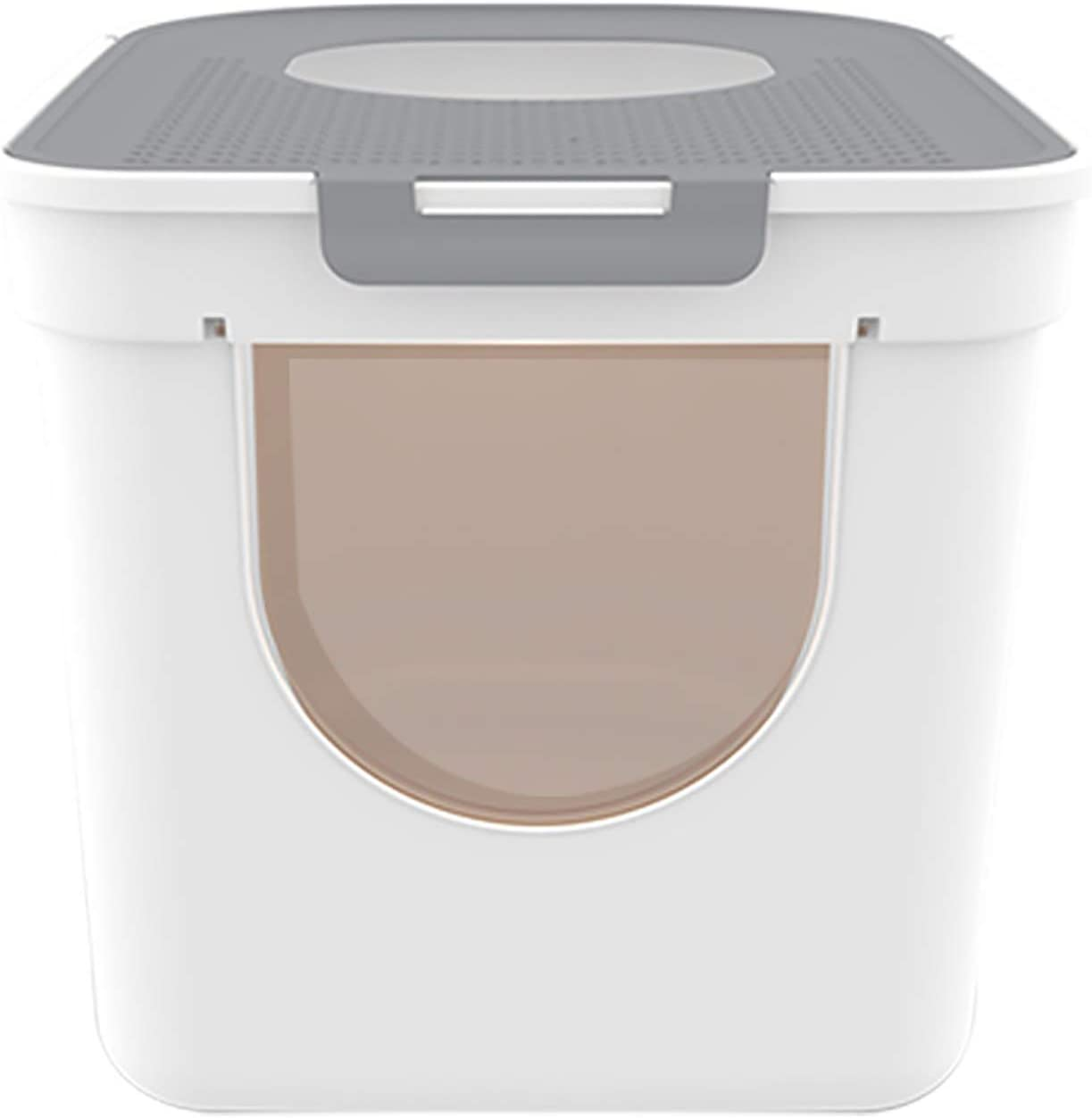 Max 45% OFF YJ Sized Memphis Mall Covered Litter Tray Cat XXL Fully Anti-Splash Enclosed