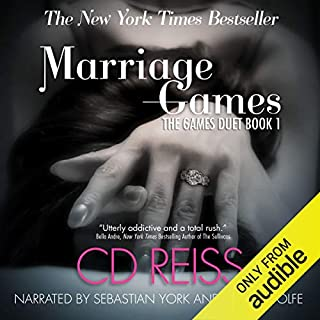 Marriage Games audiobook cover art
