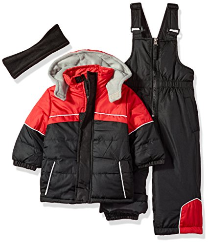 iXtreme Big Boys Snowsuit, Colorblock Black, 18