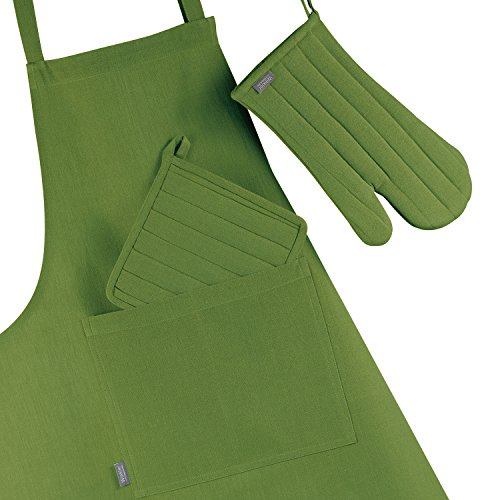 Winkler - Tablier de cuisine à poche > - 80x102 cm - Protection 100% coton - Blouse adulte lavable - Sangle ajustable