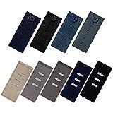 HMM Knopf hosenerweiterung für Jeans & Hosen erweiterungen für Anzughosen, 9-teilig, Mehrfarbig