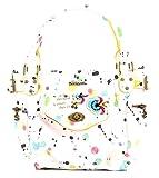 Desigual - Sac Bols Mini McBee Splatter DESIGUAL Blanc