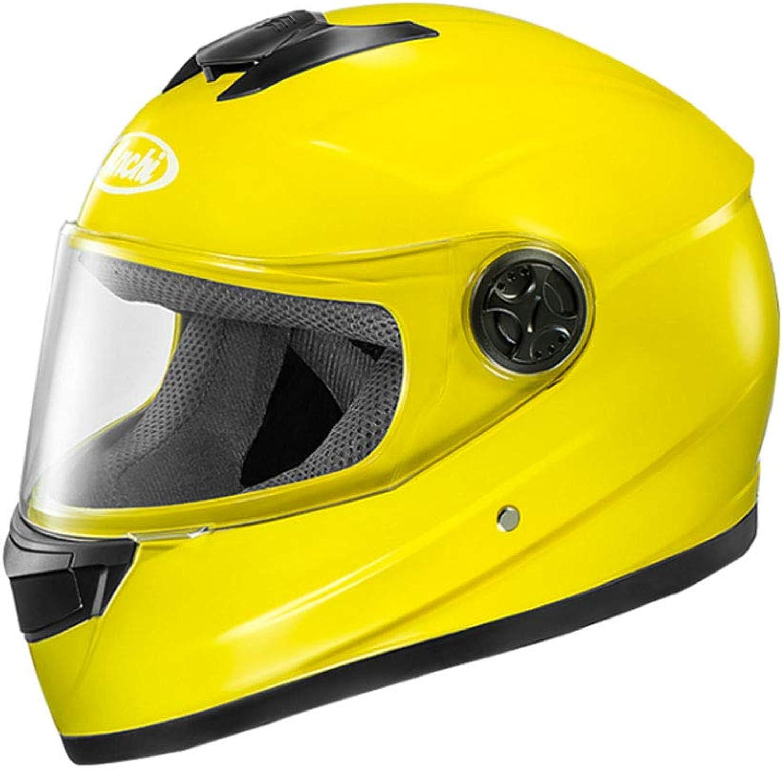 ZXW Helmet  Motorcycle Electric Helmet Men and Women Four Seasons HD AntiFog Helmet