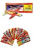 L+H 12x Styroporflieger | Set aus gemischten einzeln verpackten Gleitflugzeugen | Styroporgleiter Gleiter Flieger Wurfgleiter | ideal als Mitgebsel Mitbringsel Give aways für den Kindergeburtstag