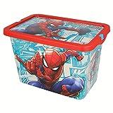 Stor Spiderman 02624 Boîte Click 7 litres Comic Book', Multicolore, ne s'applique Pas
