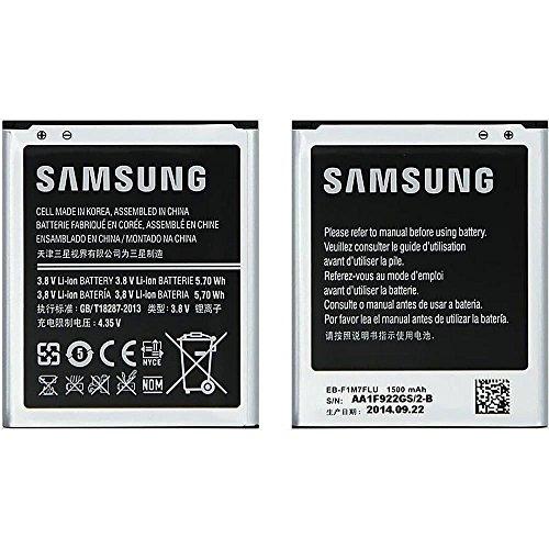 SAMSUNG Batteria per I8190 Galaxy S3 Mini, Nero [Imballaggio Apertura Facile di Amazon]
