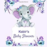 Kabir's baby shower : Personalized Name Baby shower Guest Bo