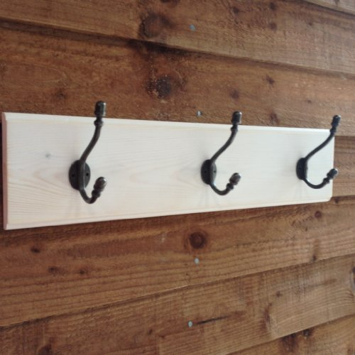 The Good Shelf Company Patère style shabby chic – Blanc délavé