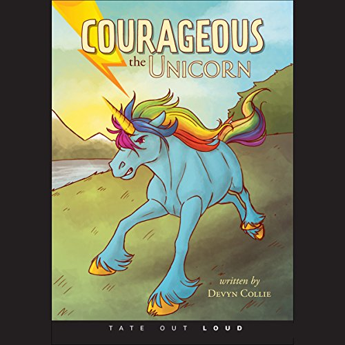 Courageous the Unicorn  audiobook cover art