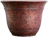 Listo SRA13001P05 Sierra Planter, Rustic Redstone Planter, 13-Inch Width