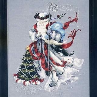 beaded santa pattern