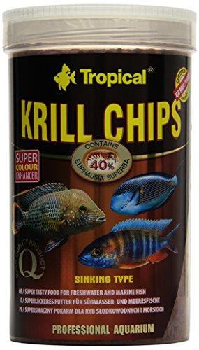 Tropical Krill Chips - Farbverstärkendes Futter mit Krill, 1er Pack (1 x 1 l)