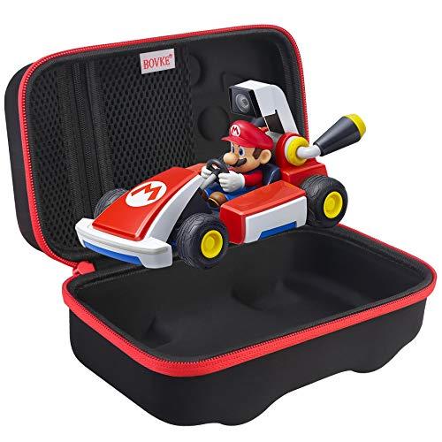 BOVKE Funda de transporte para Nintendo Switch Mario Kart Live: Home Circuit Funda protectora de viaje para Mario Set Luigi,...