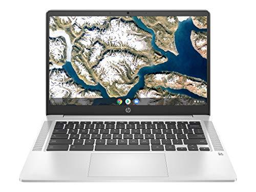 HP 14' HD Notebook Intel N4000 1.1 GHz, 4GB Memory, 32GB eMMC Chrome OS 14A-NA0642CL (Renewed)