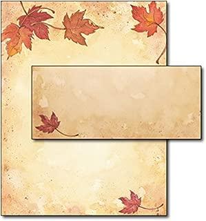 Fall Leaves Stationery & Envelopes - 40 Sets
