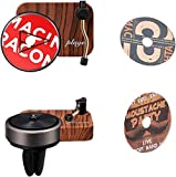 BORUIMA Car Air Fragrance Diffuser with Vent Clip Record Player, Car Vent Air Fresheners,Automotive Air Freshener Purifier With DIY Possible Tablets,3 Aromatherapy Tablets Included